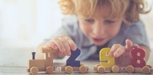 trust child care providers - playing with blocks