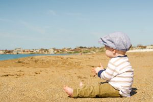 keep baby comfortable in the summer heat