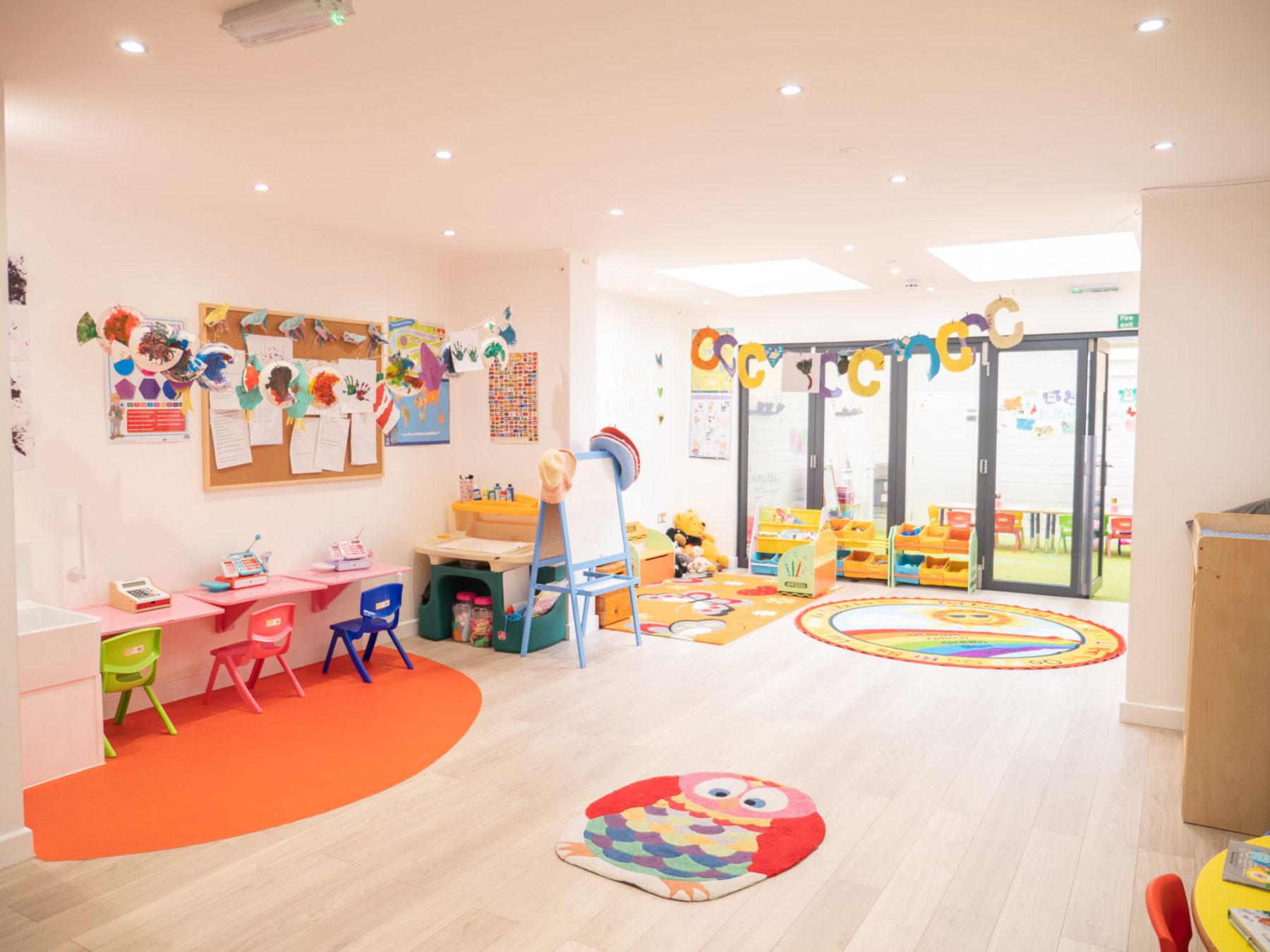 Little Angels Nursery Perkins Square Playroom