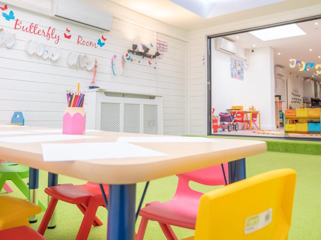 Little Angels Nursery Perkins Square Table