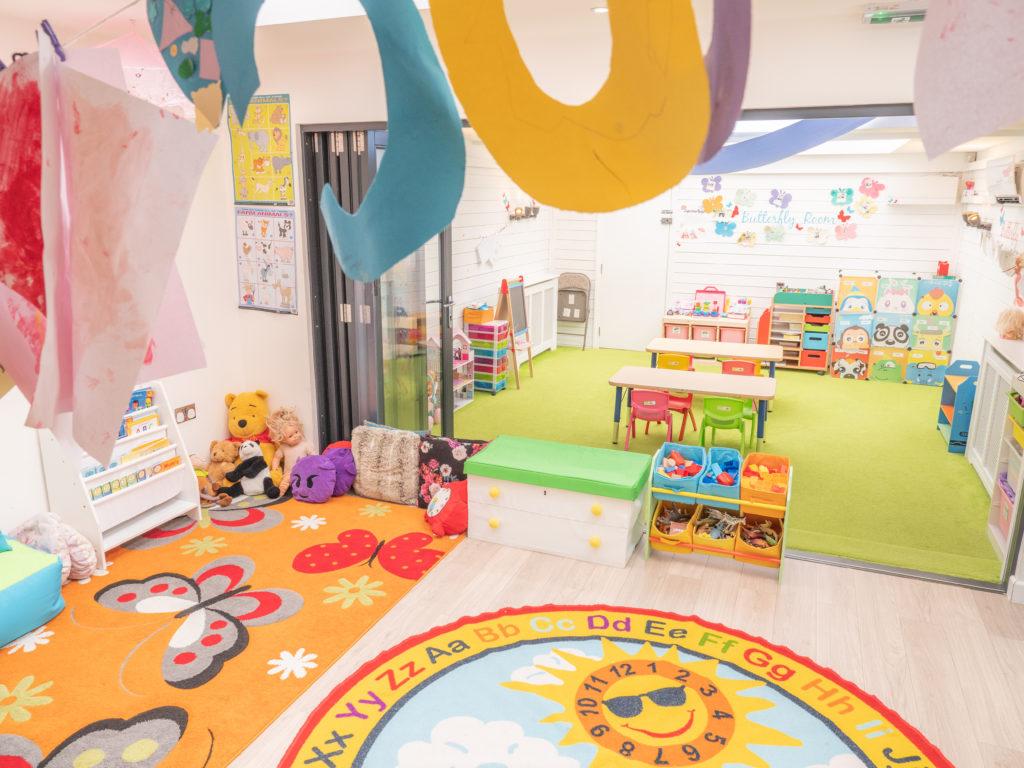 Little Angels Southwark Nursery Interior