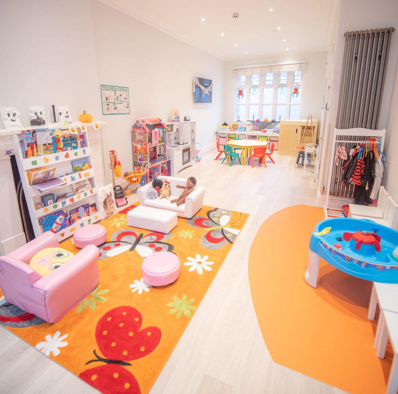 Little Angels Nursery Southwark Location Interior