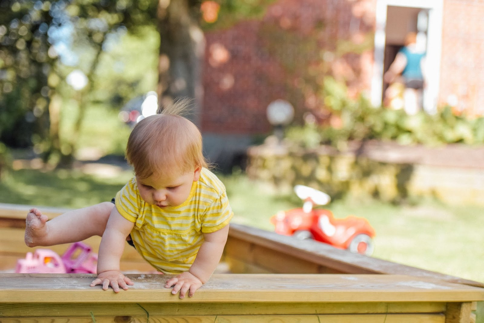 Physical Development in Toddlers at Little Angels Nursery
