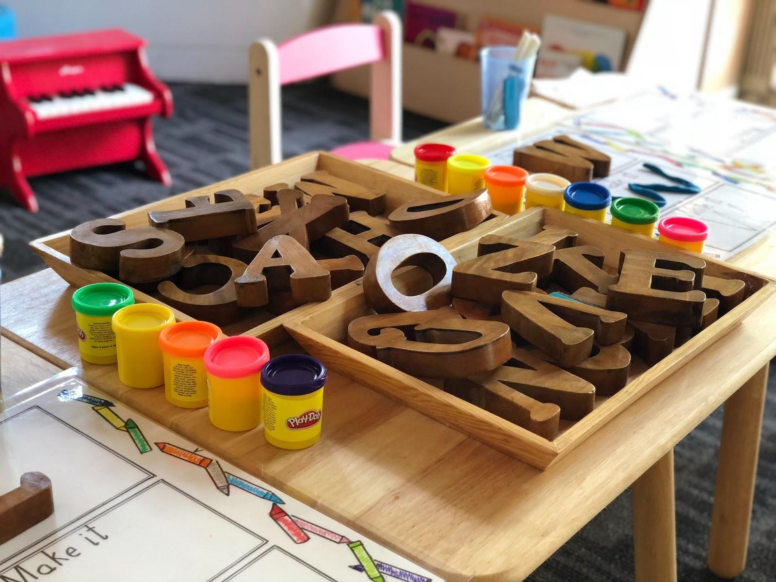 Fun nursery games at Little Angels London
